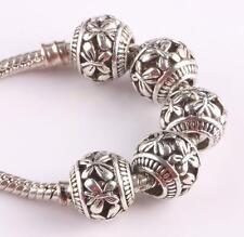 10pcs retro Tibetan silver spacer beads fit Charm European Bracelet AS418 WT WT