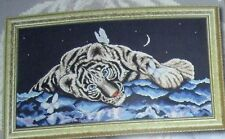 "1 Wonderful ""Tiger with Butterfly"" Counted Cross Stitch Kit"