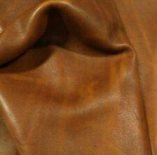 vera pelle di vitello vacchetta 21*29 cm formato A4 Avana 1.7mm ,pellami/pellame