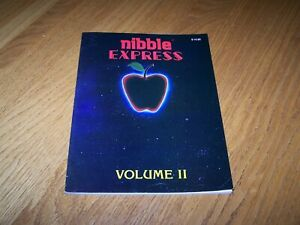 APPLE NIBBLE EXPRESS VOLUME II BOOK 1982 BY MICRO-SPARC IN VERY GOOD CONDITION