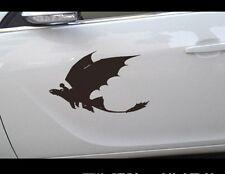 How to Train your dragon Car Door Sticker Vinyl Decal Hot Anime Cartoon 25cm