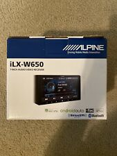 "ALPINE iLX-W650 7"" Digital Media Bluetooth Receiver APPLE CARPLAY COMPATIBLE"