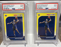 Zion Williamson Invest LOT (2) PSA 9 Rookie NBA HOOPS Yellow Flood  RC Rookie