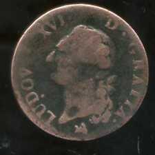 LOUIS XVI  1 sol  1791 B