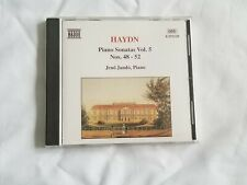 Haydn: Piano Sonatas Vol. 5 Nos.48-52 (CD, Jan-1995, Naxos