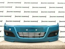 VAUXHALL ASTRA LIMITED EDITION H 5 DOOR2004-2007 FRONT BUMPER IN BLUE [Q167]