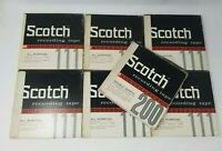3M Scotch Magnetic Tape Reel 111 1/4 Inch x 1200ft - Lot of 6 1- 200 (2400) used