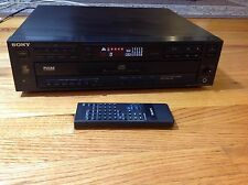 Vintage Sony Pulse D/A Converter 5 Disc Compact CD/Stereo System