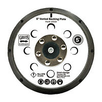 """Griot's Garage 5"""" vented orbital backing plate GRG-10550 FASTEST FREE SHIPPING!!"""
