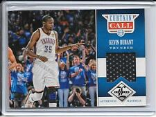 2012-13 Limited Kevin Durant Curtain Call Jersey # 148/199 Oklahoma City Thunder