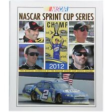 2012 Sprint Cup series yearbook Nascar racing Official New pictorial book +decal