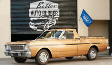 Rubber PACK for XR - XT - XW - XY Ford Falcon UTE