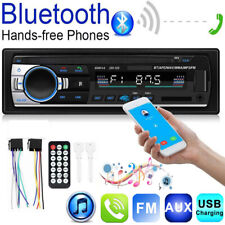 12V Car Stereo In Dash Bluetooth MP3 Player Aux Input USB FM Radio Receiver 1DIN