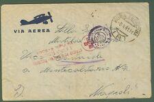 Regno.CROCE ROSSA. Let. del 1941 da Roma a Napoli