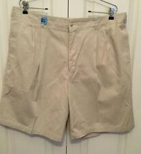 Geoffrey Beene Mens Shorts Khaki beige size 40