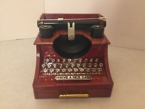 """Music Box Typewriter - Plays """"Fur Elise"""" - Have a Nice Day - Wind Up"""