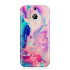 Fundas y carcasas mate de piel para teléfonos móviles y PDAs HTC