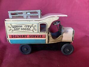 Linemar Marx Tin Friction Kansas City Truck
