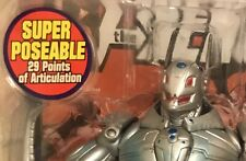 New Marvel Legends Legendary Rider Series Ultron w/ Vehicle Toy Biz 29pts 2006