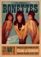 Beatles Paul McCartney /& Wings City Hall Concert Poster 1973 metal tin sign