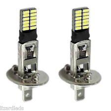 2x H1 Halogen 24-LED 12V Car Fog Bulbs Driving Light Super White 6500K
