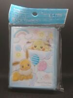 Pokemon center JAPAN - Pikachu & Eevee card Deck Shields (64 Sleeves)