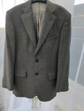 """M&S Mens Grey Sports Jacket Pure New Wool Ex Cond 38"""" Chest"""