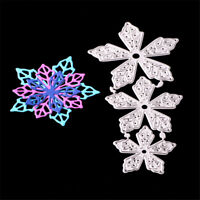 Beautiful Flowers Metal Cutting Dies for DIY Scrapbook Album Photo Card Decor E&