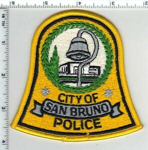 San Bruno Police (California) Shoulder Patch - new from the Early 1980's