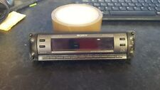 SONY CDX-R450 CD FACE OFF FRONT SECURITY PANEL ONLY,POP OF FASCIA,