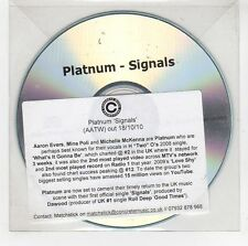 (GG880) Platnum, Signals - 2010 DJ CD