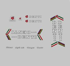 Mino Denti Bicycle Frame Decals - Transfers - Stickers n.110