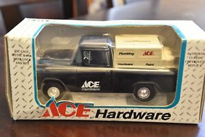 ERTL Ace Hardware 1955 Chevrolet Cameo Pickup Coin Bank