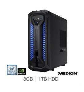 Medion Erazer X30, Intel Core i5, 8GB RAM, 1TB HDD, GTX 1060, GAMING DESKTOP PC