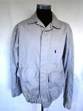Ralph Lauren Polo Jacke Blouson Sommerjacke Grau Unifarben Gr. XL