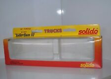 SOLIDO REF 3507 BOITE VIDE CAMION DAF REMORQUE  IPONE SOLIDO BON ETAT (lot b4)