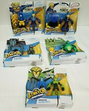 Stretch Armstrong-Flex Fighters-Netflix-Lot x5 with BlindStrike,Wingspan,Monster