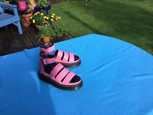 Dr Martens Clarissa ll Quad Sandals UK 7 'soft pink'