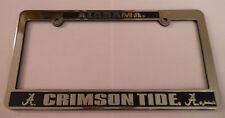 Alabama Crimson Tide Silver License Frame [NEW] Tag Auto Car Frame Plate Truck