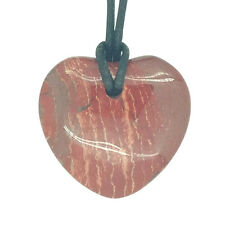 Lucky libra Piedra Corazón Colgante Zodiaco Astrología Piedras Preciosas Jaspe Rojo