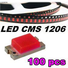 116/100# LED CMS 1206 rose -90mcd -SMD pink - 100pcs
