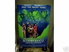 SCOOBY DOO 2 - MONSTERS UNLEASHED, orig rolled DS 1-sh / movie poster