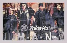 TOKIO HOTEL Grand DRAPEAU TISSUS HUMANOID 150 X 90 neuf