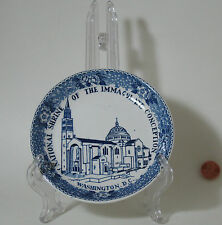 NATIONAL SHRINE OF THE IMMACULATE CONCEPTION PLATE -ENGLISH STAFFORDSHIRE -VG
