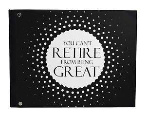 Darling Souvenir Hardboundcover printed GuestbookRetirement Party-DSPGB-262A