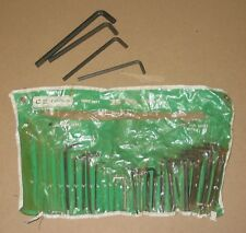 25 Piece Allen Wrench set  SAE and Metric