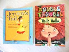 Lot-Jeremy's Tail by Duncan Ball, Double Trouble in Walla Walla * Children's