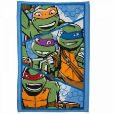 Teenage Mutant Ninja Turtles Couverture polaire dessus lit enfants TMNT