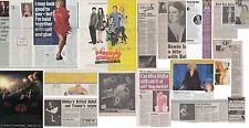 BETTE MIDLER : CUTTINGS COLLECTION -interviews adverts-