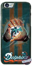 Miami Dolphins Football Gloves Phone Case for iPhone X 8 PLUS Samsung 9 LG etc